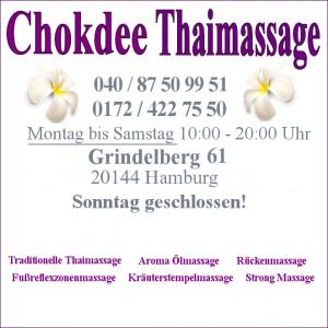 Samstags Thaimassage