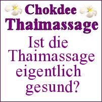 Ist Thaimassage gesund?