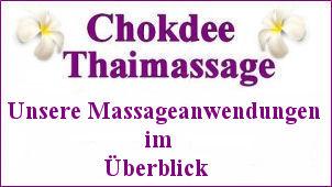 Chokdee Thaimassage Massageanwendungen