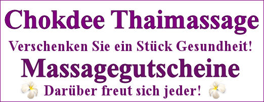 Massagegutscheine onlineshop